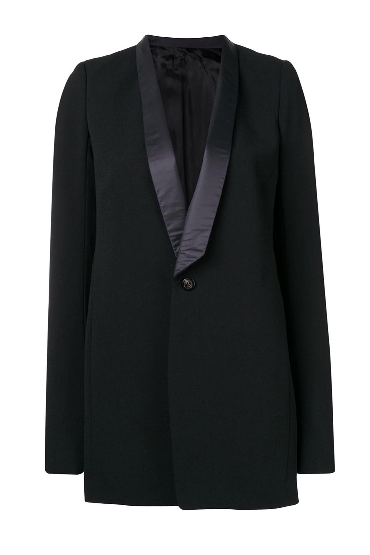 ce6eb0c37747 RICK OWENS Классический однобортный пиджак ...