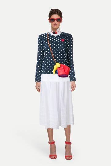 90b348047f9 Свободная джинсовая куртка и сарафан с фестончатым подолом — женский ...